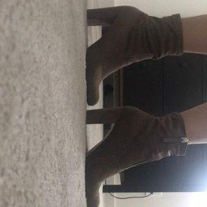 Brown Sock Booties